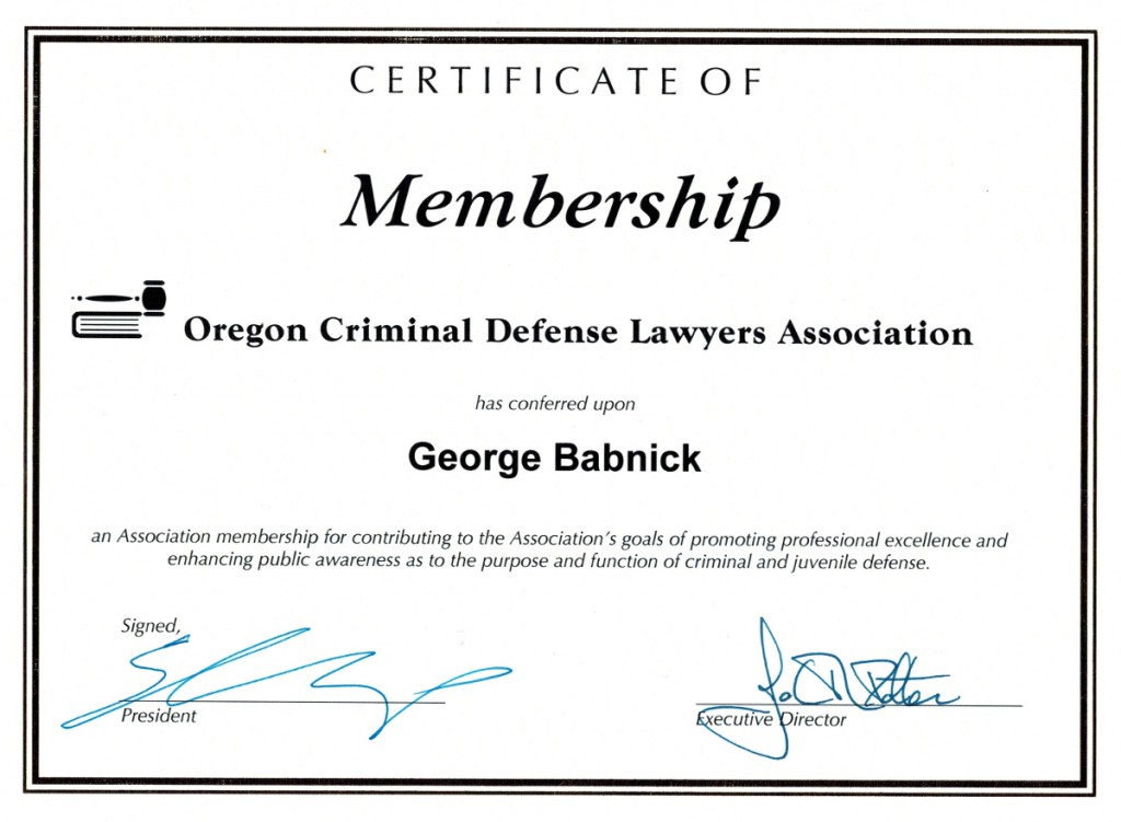 Babnick_Criminal_Lawyers_Defense_Association